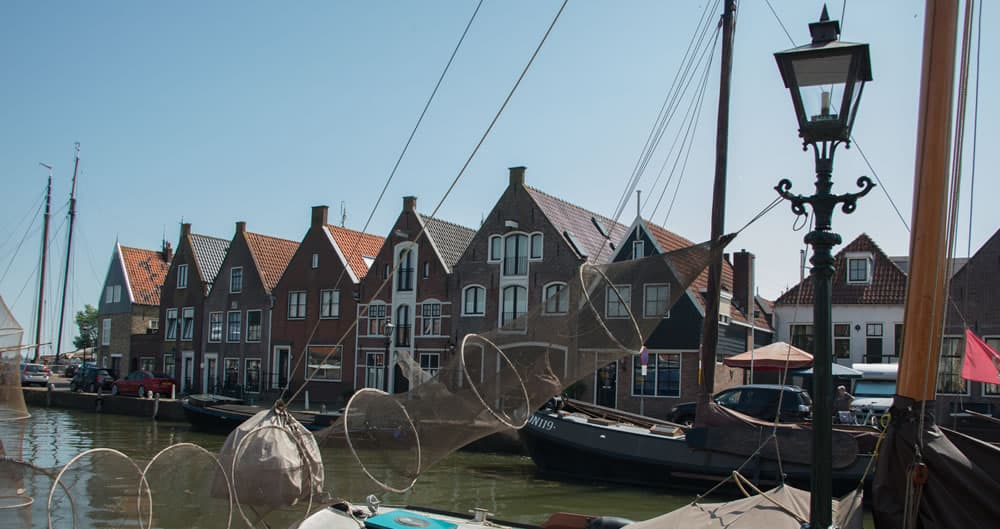 Surroundings of Apartments Waterland in Monnickendam near Amsterdam